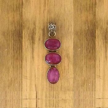 Designer Royal Ruby Pendant